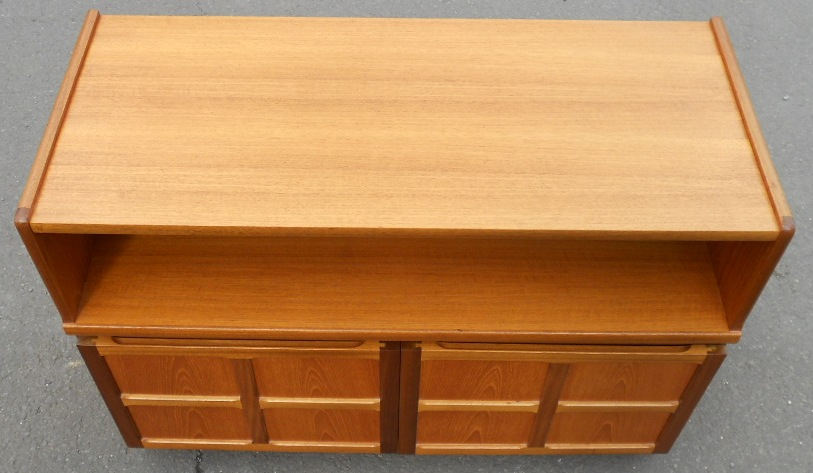 Retro Teak Side Cabinet Cupboard By Nathan